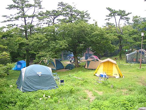 Goenzan Campsites