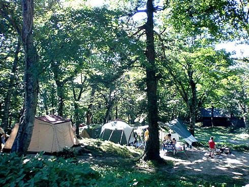 Shimoyama Campsite