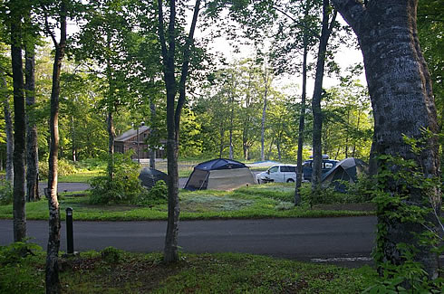 Goshogake (Onuma) Campsite
