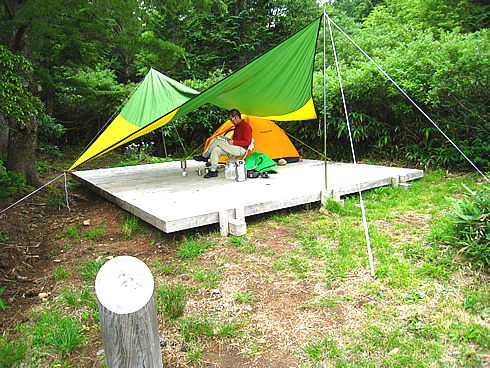Jododaira Campsite