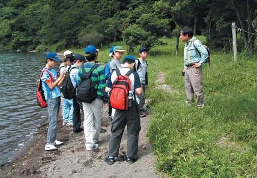 Nature observation walks for elementary school students[Hakone]