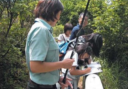Nature interpretation around the visitor center[Hachimantai]