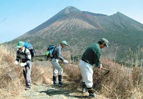 Supporting conservation activities of Kyushu Azalea[Takachihogawara]